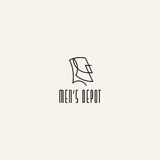 Men's Depot logo zaprojektowane przez Rek House