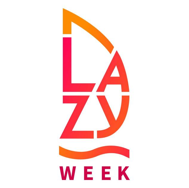 Lazy Week logo wykonane przez Rek House