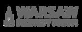 Logo Warsaw Security Forum na stronie Rek House