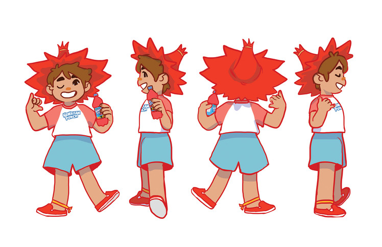 Punchy Mascot redesign