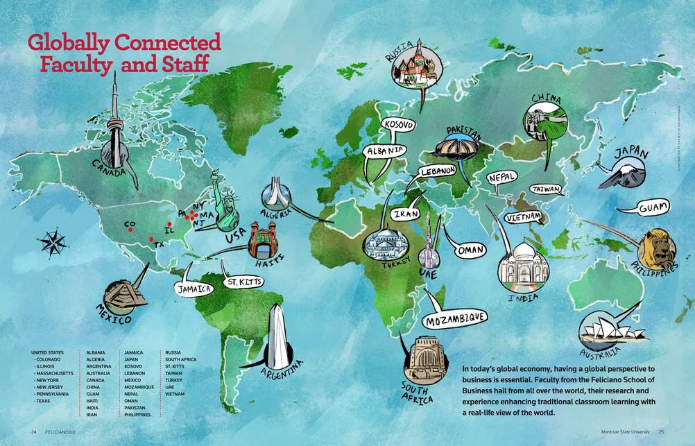 Feliciano Biz Magazine 2019 Map Spread