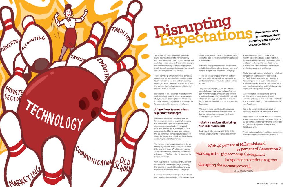 Feliciano Biz Magazine 2020 Article Illustration