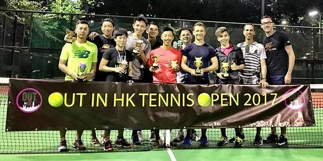GLTA Tennis Tournament is a Huge Success! Out in Hong Kong