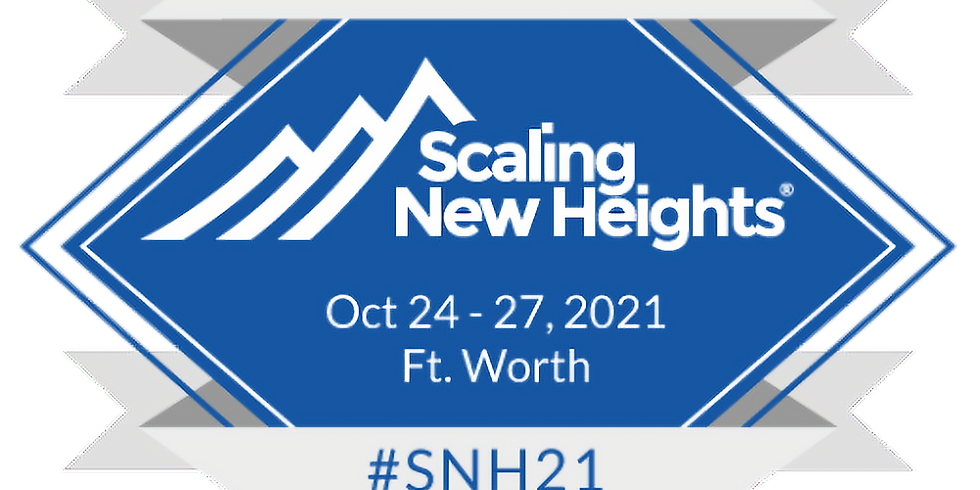 Scaling New Heights 2021