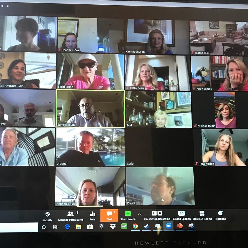 General Membership Zoom Meeting