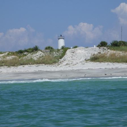 A  day at Egmont Key! Come by boat or Ferry!