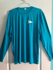 Teal Unisex Swim Shirt