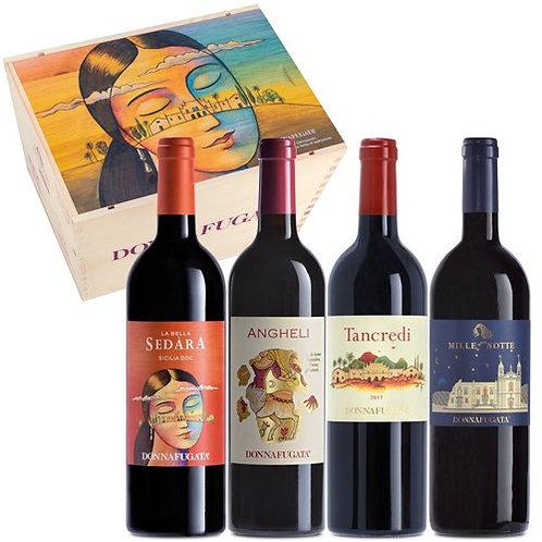 """Donnafugata""""Il Gattopardo"""" Confezione 4 Bottiglie"""