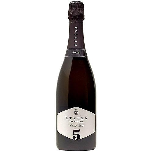 Etyssa Cuvée N°5 Extra Brut Trento DOC 2016 (astucciato)