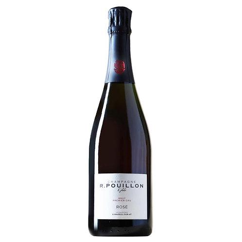 Champagne Roger Pouillon & Fils Rosé de Saignée Brut Premier Cru