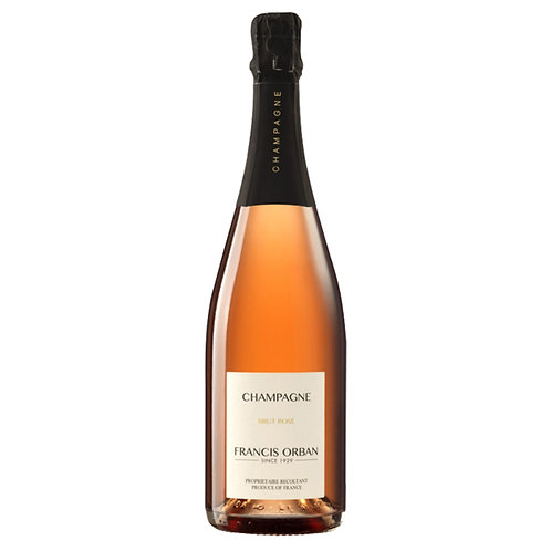 Champagne Francis Orban Brut Rosè