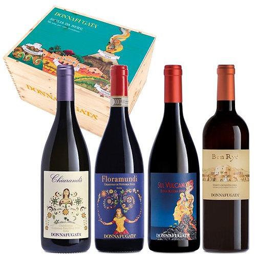 """Donnafugata """"Sicilia da Bere"""" Confezione 4 Bottiglie"""