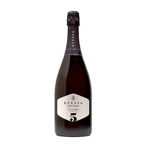 Etyssa Cuvée N°5 Extra Brut Trento DOC 2016 MAGNUM