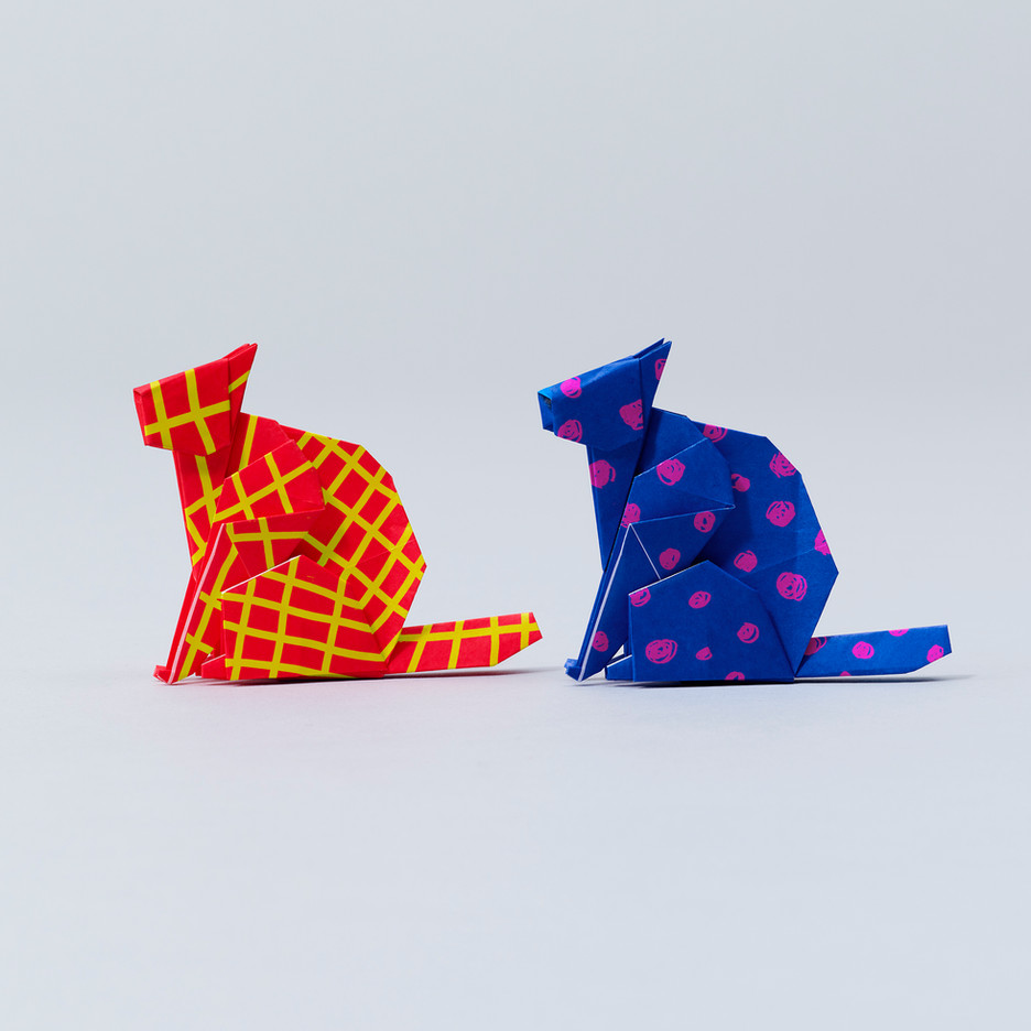 """Monster"" Cat ORIGAMI"