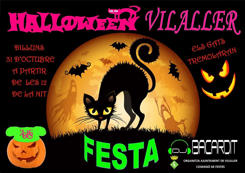 VILALLER  Fiesta   Halloween