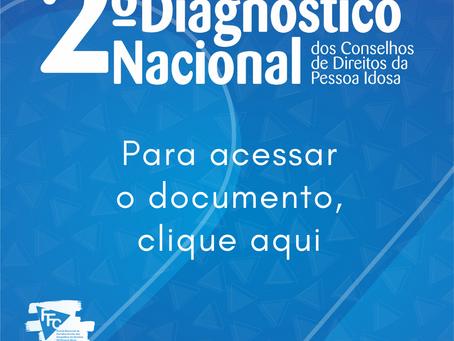 2° Diagnóstico Nacional dos Conselhos de Direitos da Pessoa Idosa