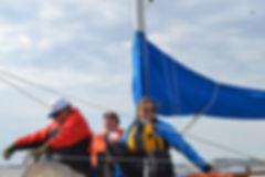 Sailing at Kingsmill