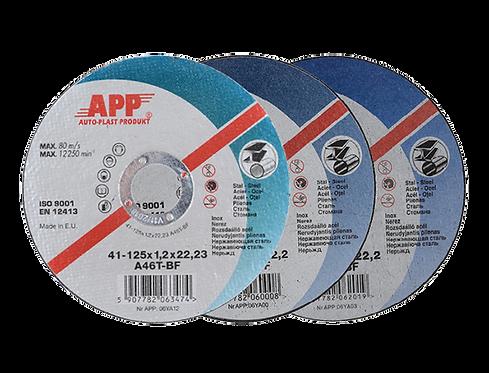 Disques pour coupe de l'acier APP SDC.( par 10 pcs)