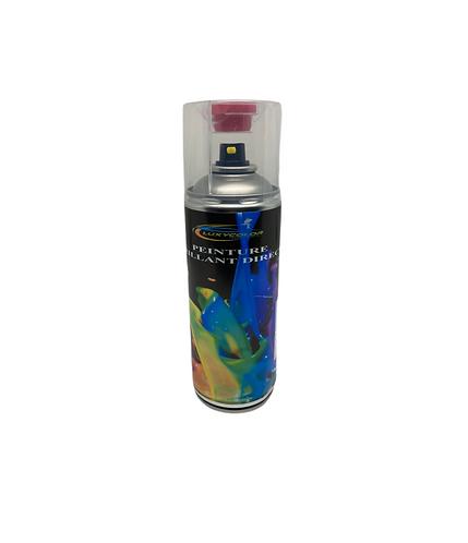 Bombe de peinture camion ral brillant direct 400ml + poignée + plaquette test