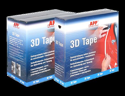 Mousse adhésive de camouflage APP 3D tape blanc