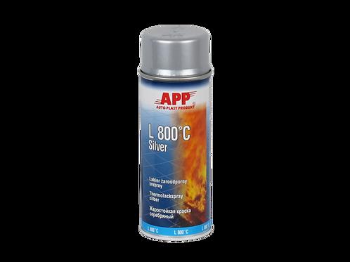 PEINTURE HAUTE TEMPÉRATURE EN AÉROSOL 800°C ARGENT