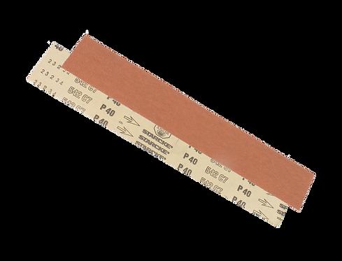 Abrasif de ponçage à sec sans trous et velcro  WH70 70 x 420mm
