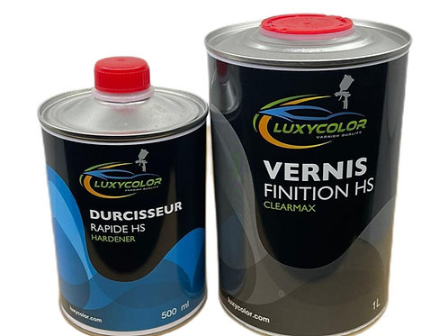 PACK VERNIS HS ANTI-RAYURES 1,5L CLEARMAX