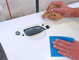 Papier de verre à l'eau APP M991 (230 x 280mm. emballage 50 pièces)