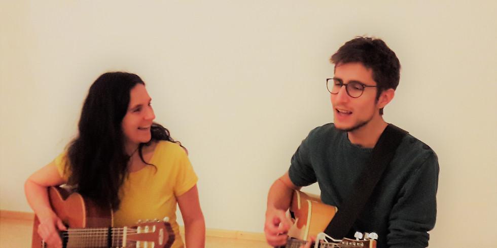 Singkreis  mit Liedern aus aller Welt (Alexander Brenner, Marlene Ullreich)