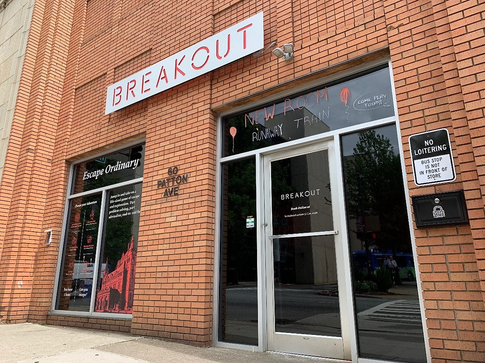 The downtown escape room in Asheville