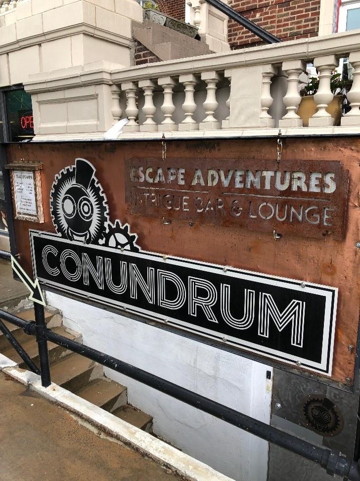 The Conudrum an Escape Room in Asheville