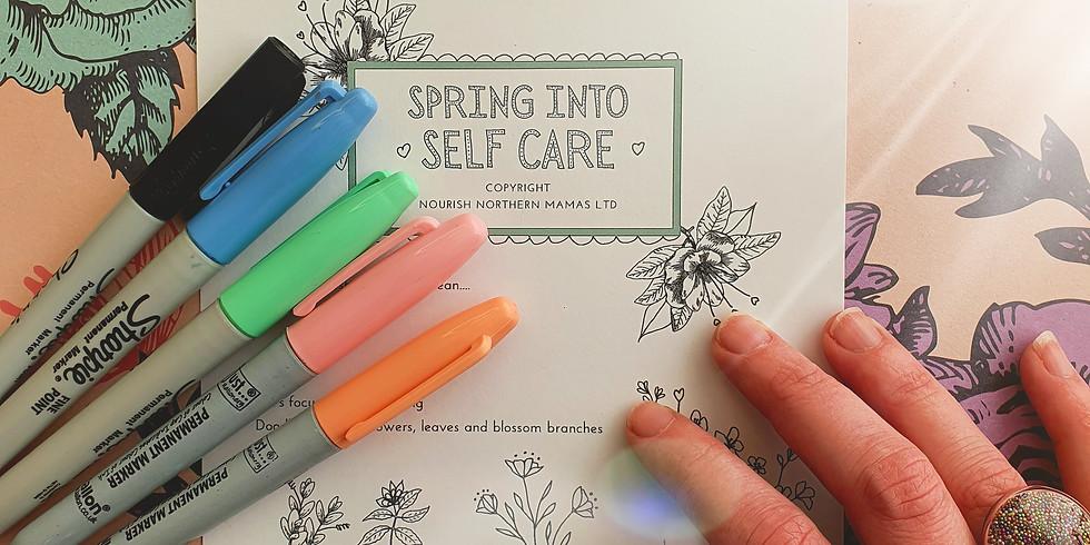 August Sunday Self Care Journal Class