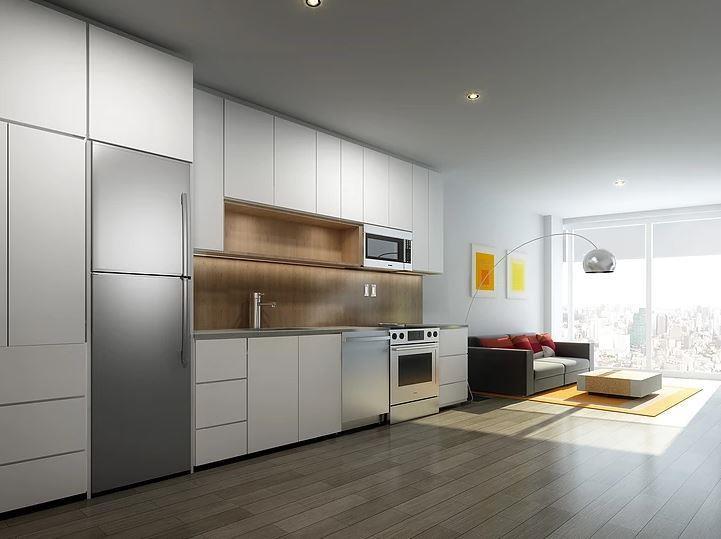 Commercial project / loft kitchen