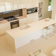 White / Ivory Transitional Kitchen
