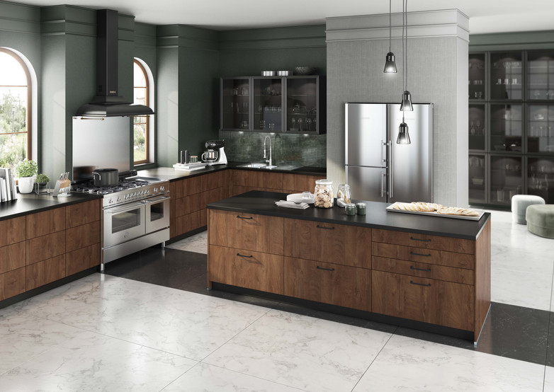 Engineered wood kitchen