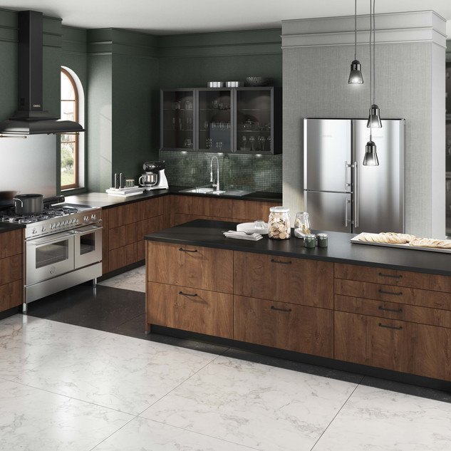 Wood kitchen