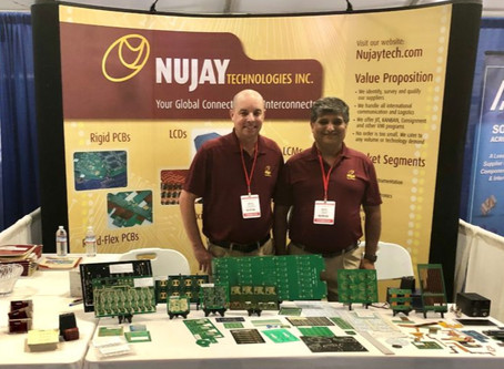 Nujay exhibits at Del Mar Electronics and Manufacturing Show