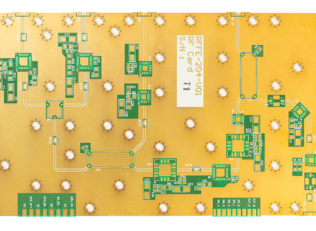 Nujay Technologies supplies High Frequency PCBs quickly!