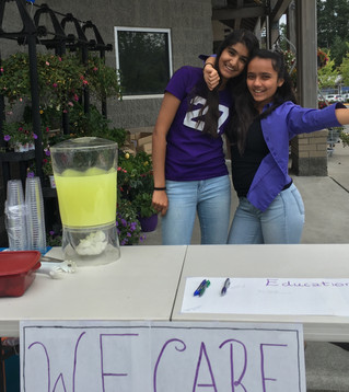 Our First Fundraiser!