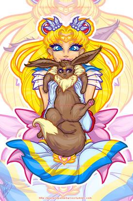 Sailor Moon & Eeevee