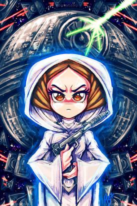 Chibi Princess Leia