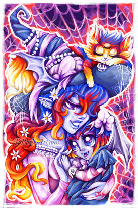 Mama Witch & Baby Vamplette