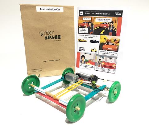 Transmission Car Robotics Kit