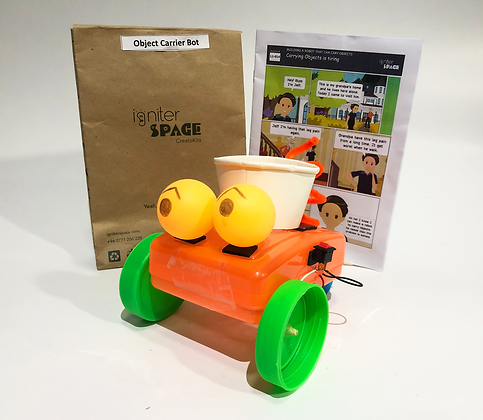 Object Carrier Robot Robotics Kit