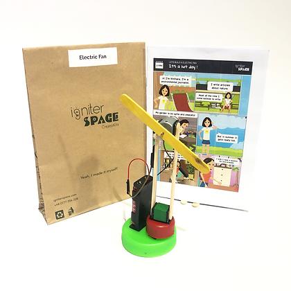 Electric Fan Robotics Kit