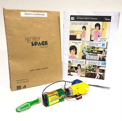 Electric Toothbrush Robotics Kit