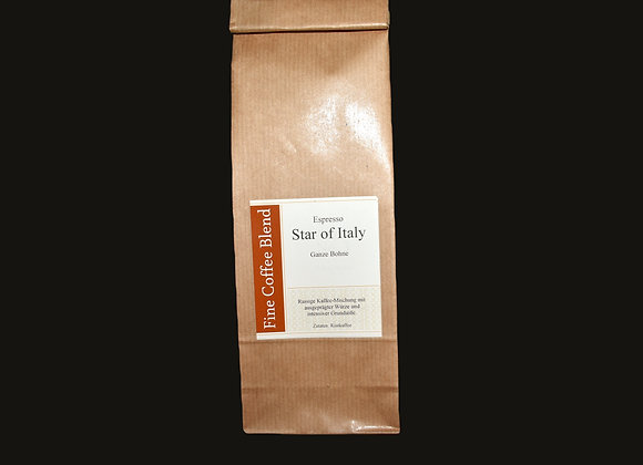 Espresso Star of Italy gemahlen