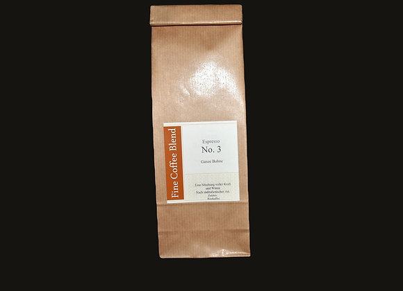 Espresso No 3 gemahlen