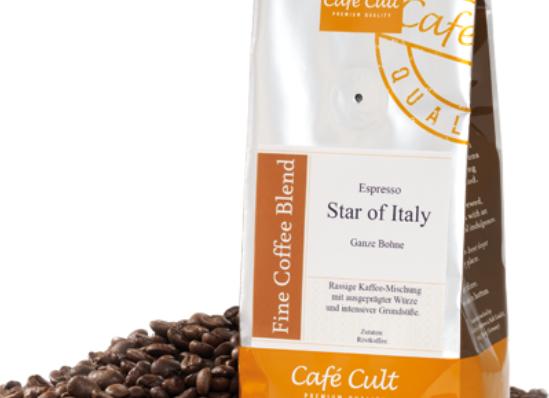Espresso Star of Italy Bohnen