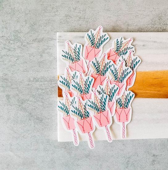 Zanzibar Gem - Handmade Plant Sticker